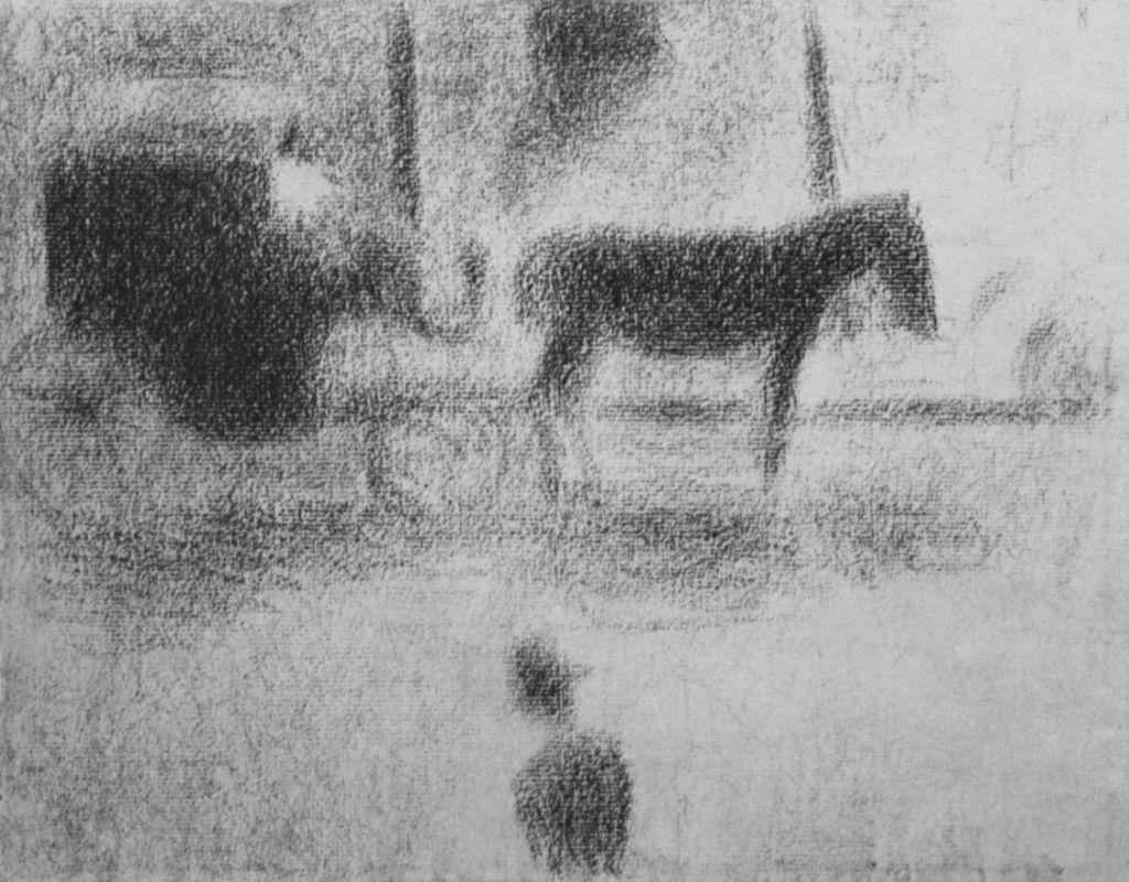 Жорж-Пьер Сёра. Дрожки. 1885