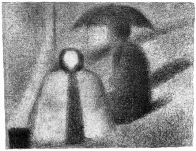 Жорж-Пьер Сёра. Кормилица. 1885