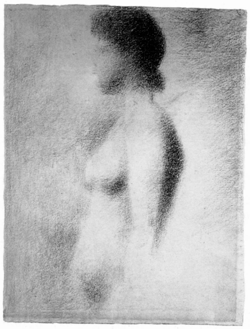 Жорж-Пьер Сёра. Обнаженная. 1885