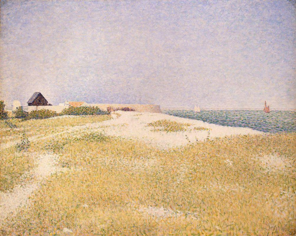 Жорж-Пьер Сёра. Форт-Сансон. 1885