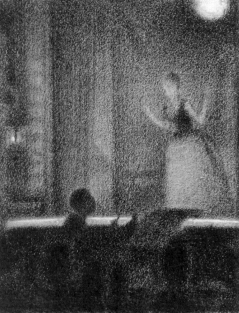 Жорж-Пьер Сёра. Отрада Рошешуар. 1888