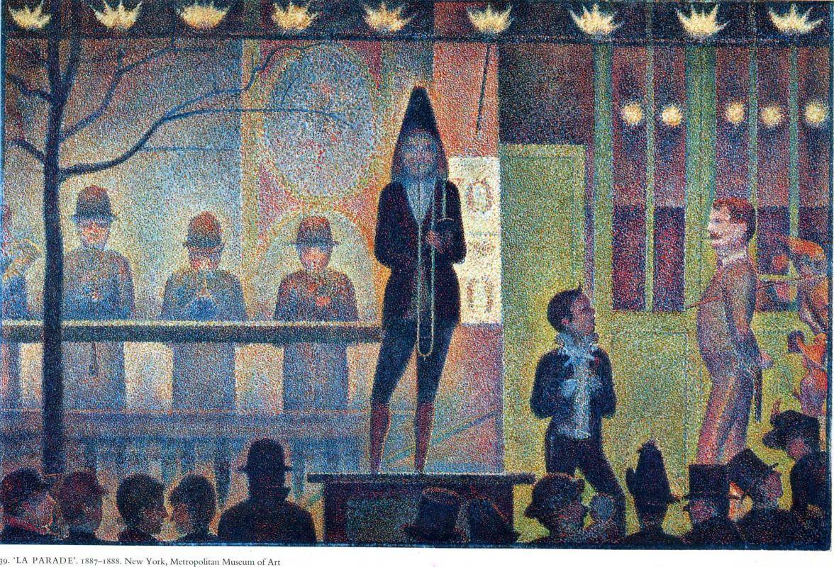 Жорж-Пьер Сёра. Парад. 1888
