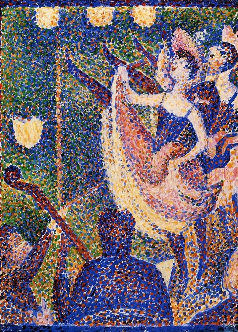 Жорж-Пьер Сёра. Этюд для Кабаре. 1890