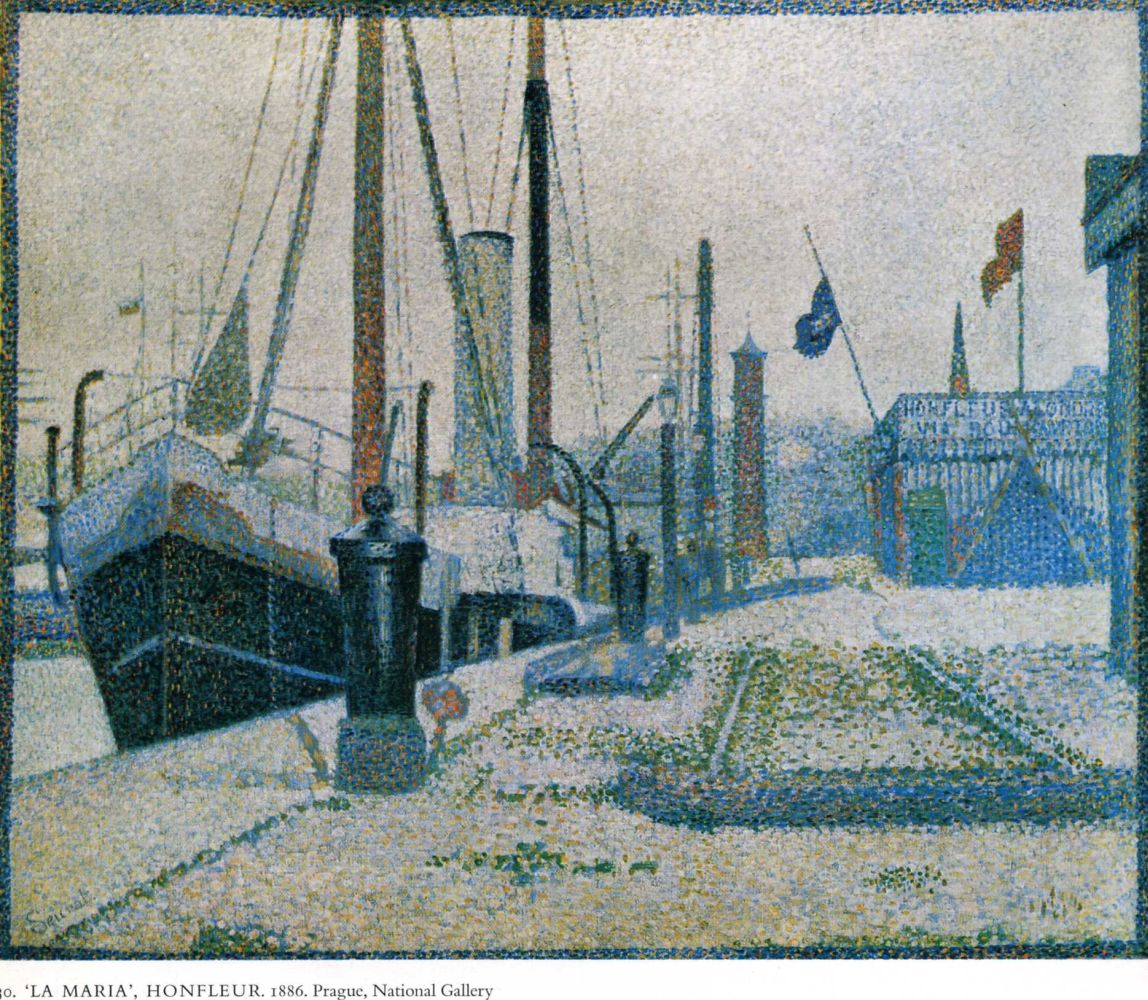 Жорж-Пьер Сёра. Корабль. 1886