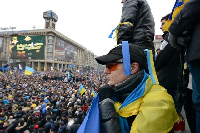 Евромайдан. Киев. Декабрь 2013