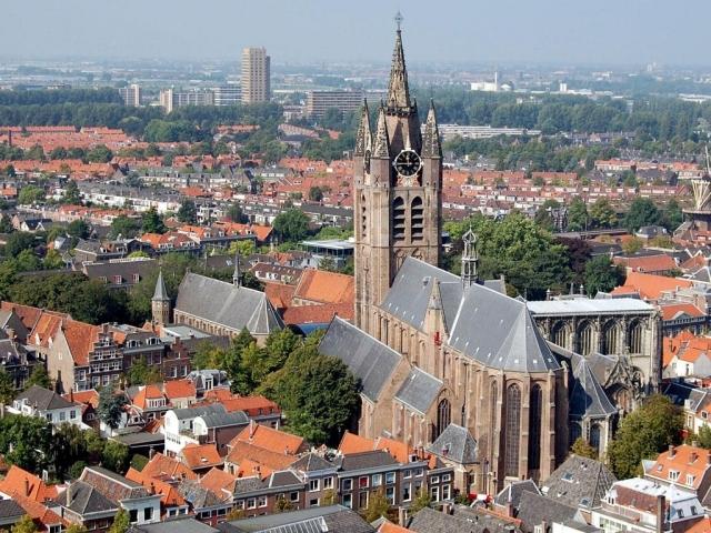 Церковь Аудекерк в Амстердаме