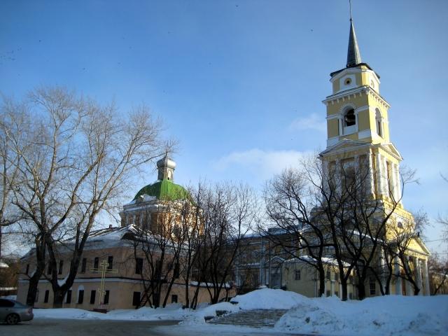 Пермская государственная художественная галерея (Спасо-Преображенский кафедральный собор)