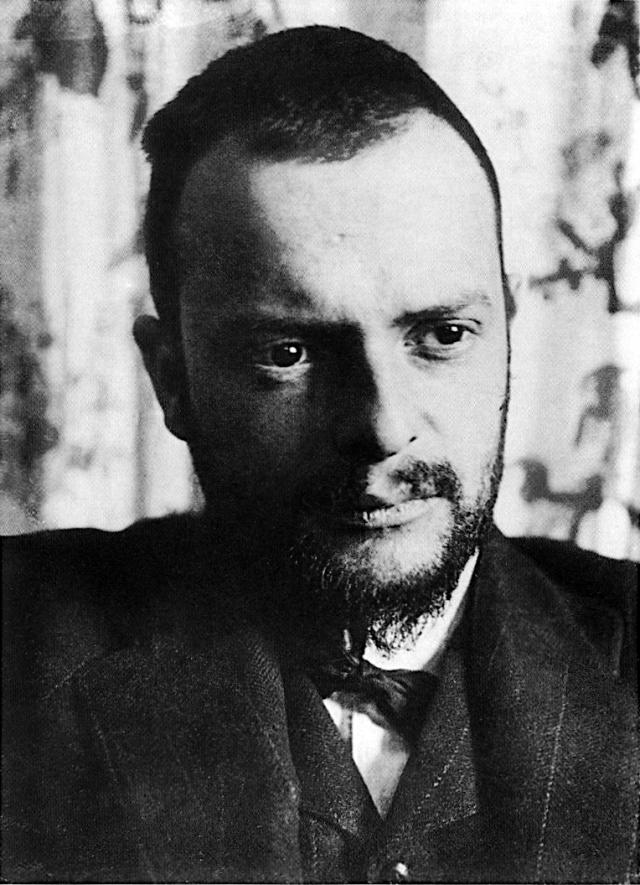 Пауль Клее в 1911 году
