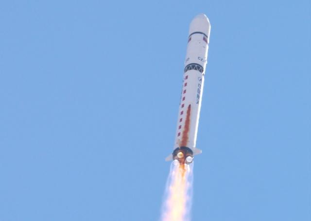 Китай успешно запустил на орбиту очередной исследовательский спутник