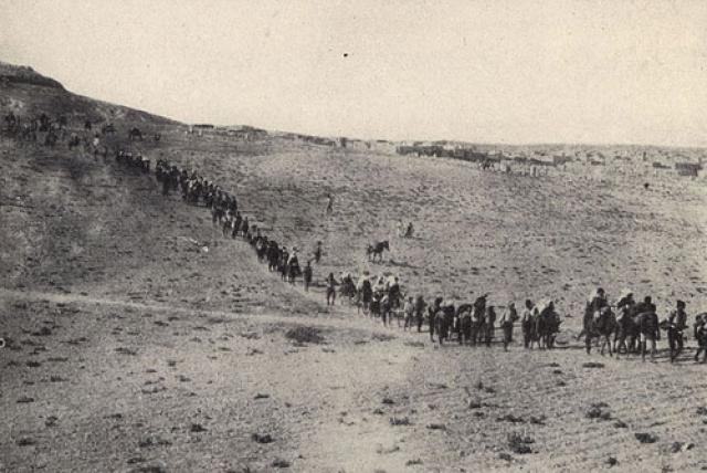Беженцы из Армении  во время геноцида
