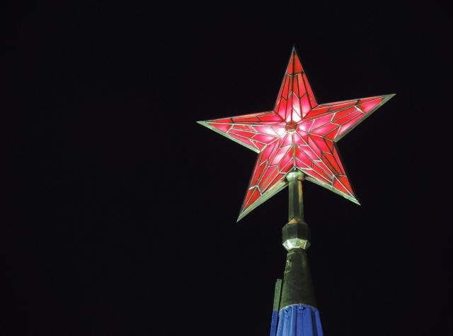 Алые звезды Кремля
