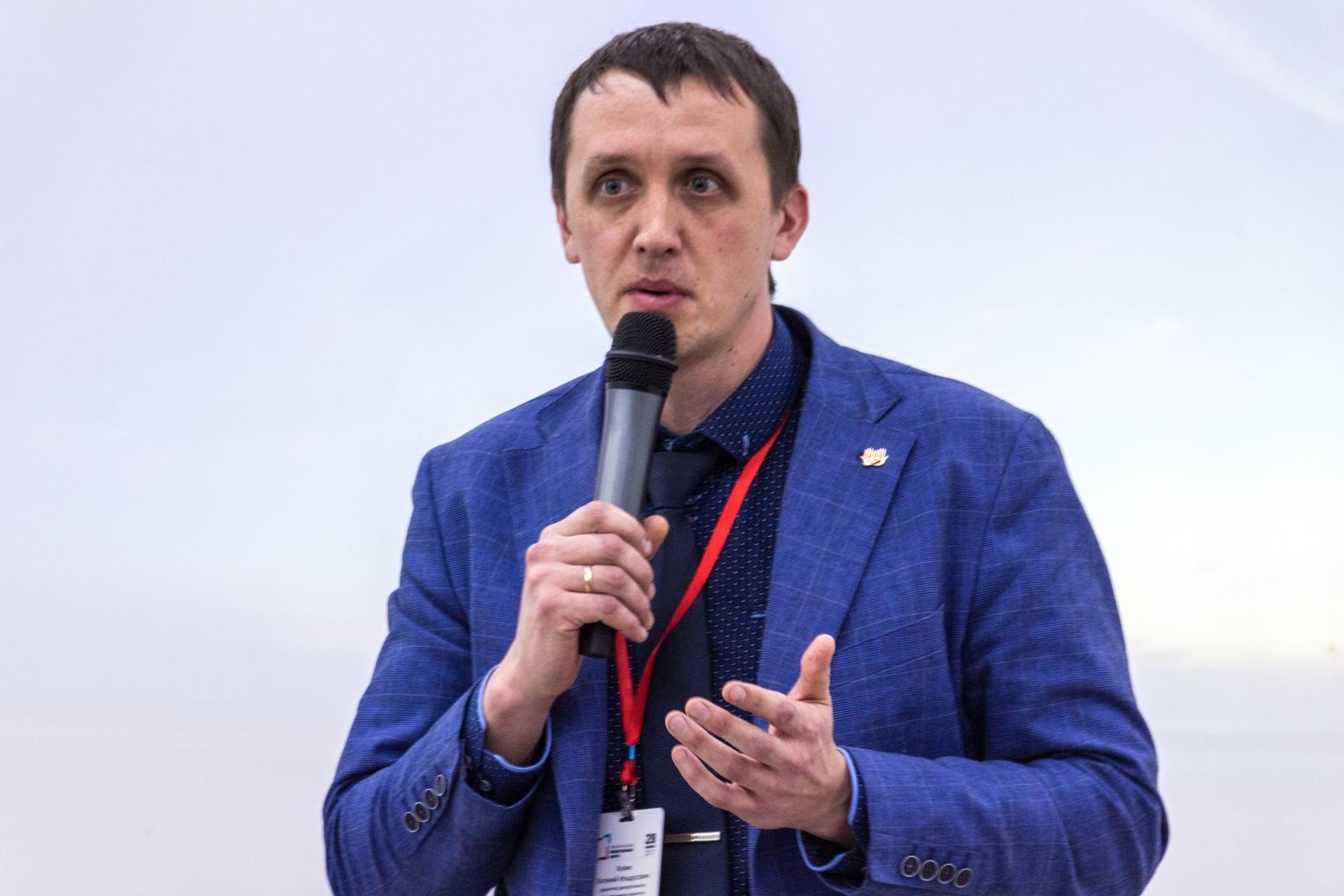 Е.И. Хузин, директор департамента общественных проектов администрации губернатора Пермского края. Пермь. 28.11.2017