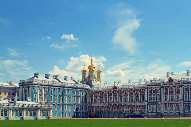 Большой Екатерининский дворец. Санкт-Петербург