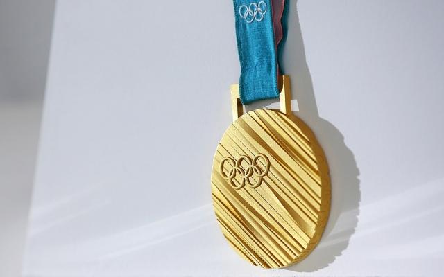 Золотая медаль Олимпийских игр 2018 в Пхёнчхане