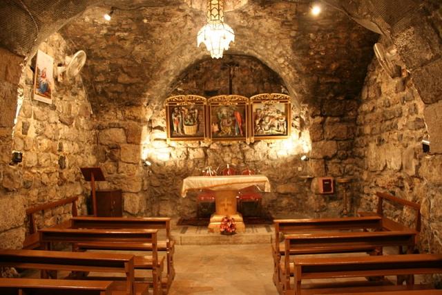 Часовня св. Анании в Дамаске. Сирия