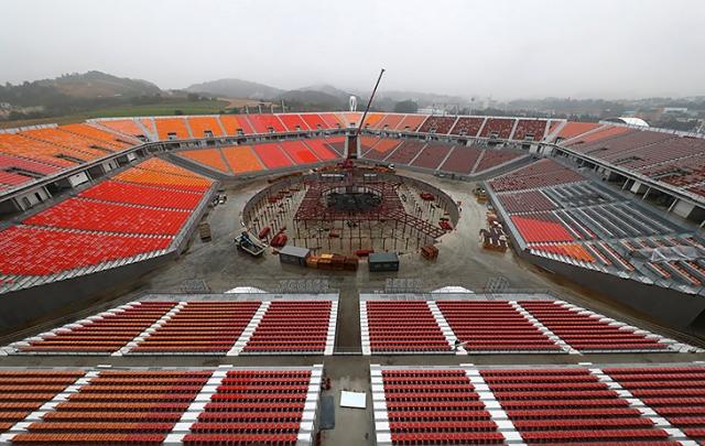 Стадион Олимпиады-2018. Пхенчхан