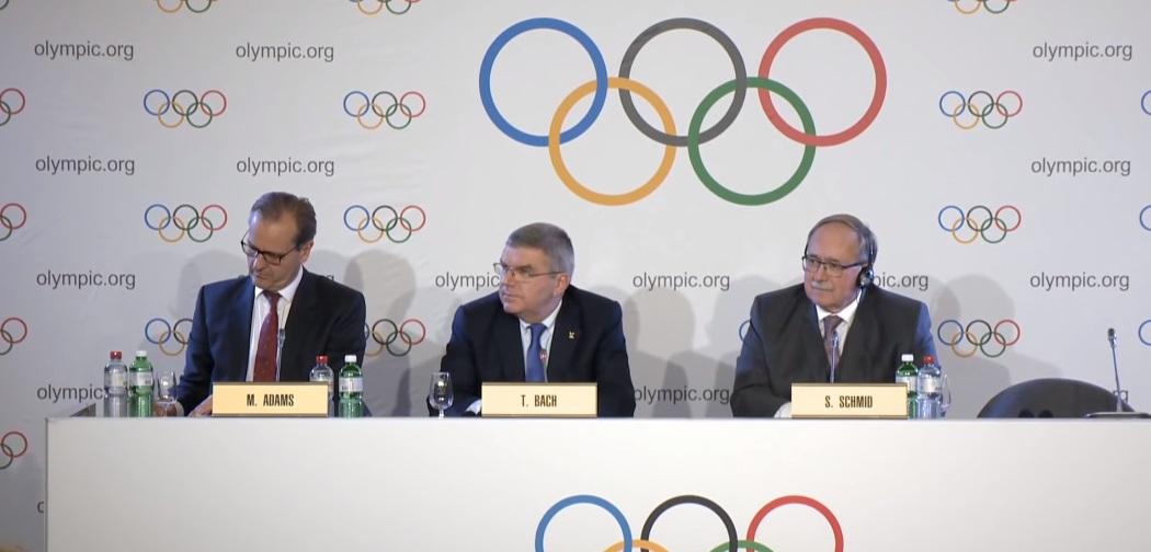 Заявление МОК о приостановке доступа России к Олимпиаде. 05.12.2017