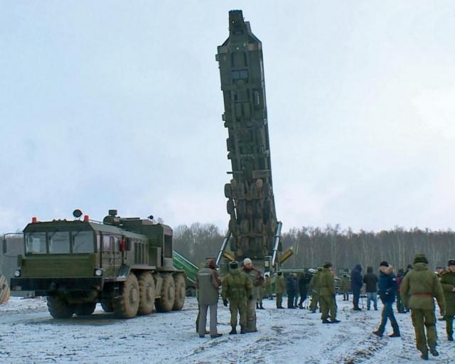 В Калужской области установили вторую межконтинентальную ракету «Ярс»