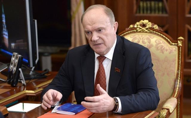 Геннадий Зюганов — американцам: Крым вернулся в РФ навсегда