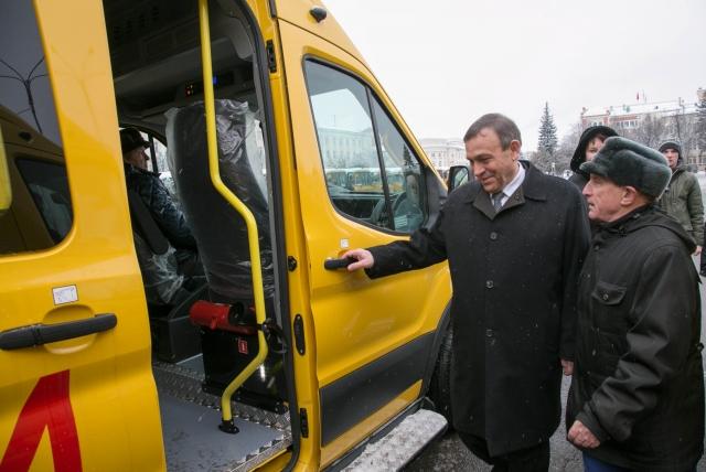 Марий Эл обновила 20% автопарка школ из резервного фонда правительства РФ