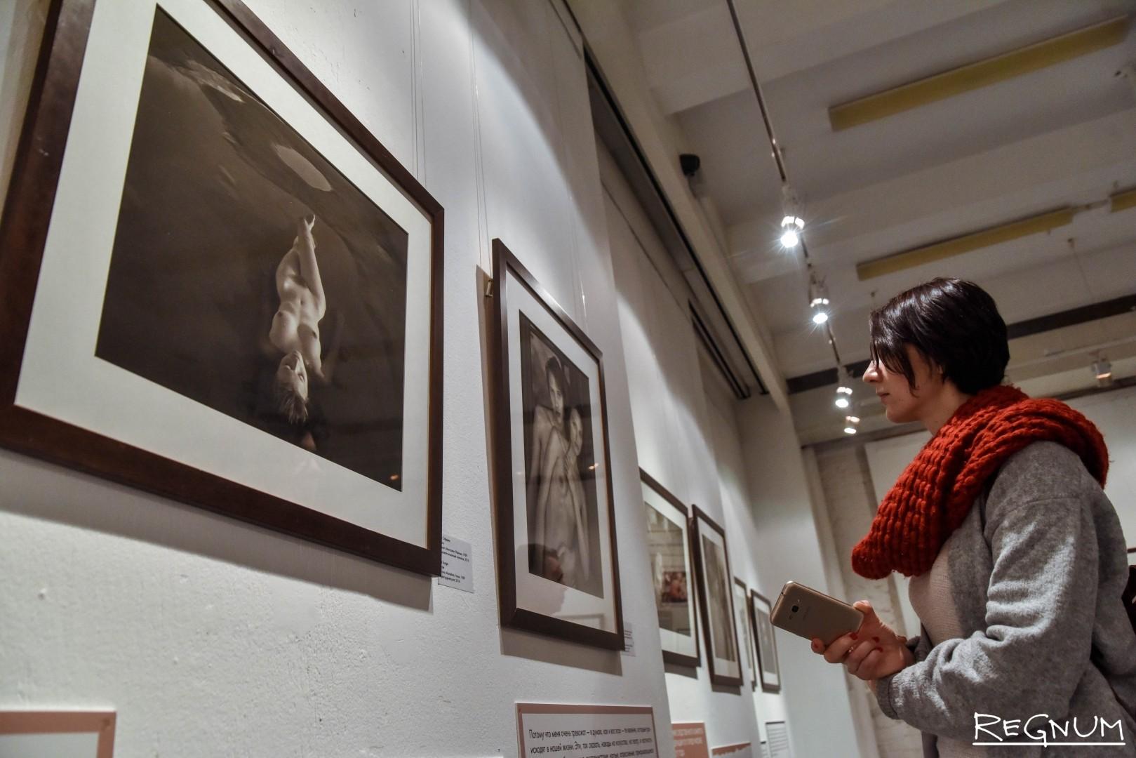 скандальная выставка с детскими фото