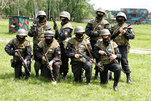 Украинские боевики