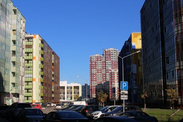 Новостройки деревни Кудрово
