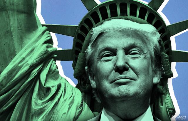 Трамп идет в новый год. Вместе с тщеславием