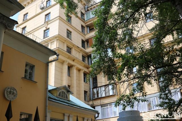 В московском дворе