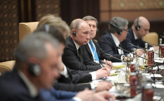Путин: Российский турпоток в Турцию увеличился почти в пять раз