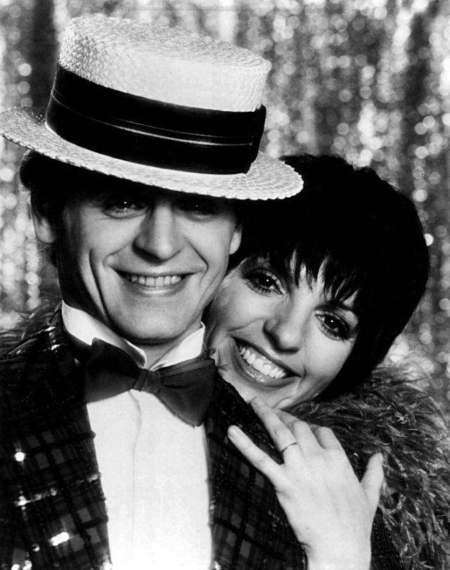Михаил Барышников и Лайза Миннелли на Бродвее. 1980