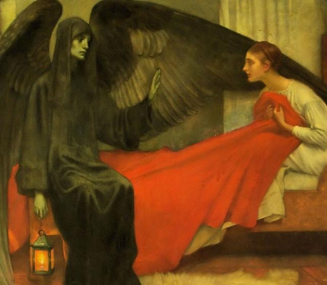 Пьер Пюви де Шаванн. Девушка и Смерть