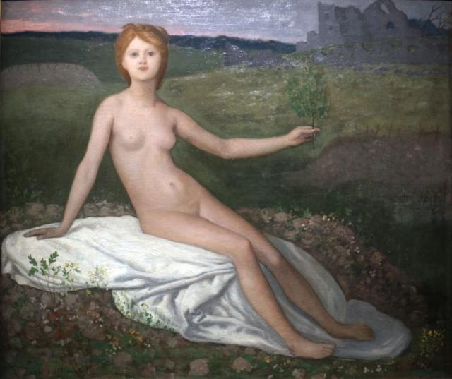 Пьер Пюви де Шаванн. Надежда. 1871 г