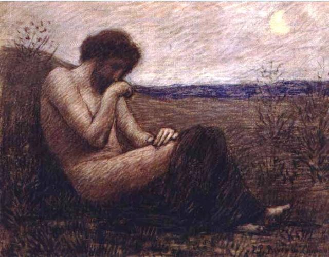Пьер Пюви де Шаванн. Одиночество