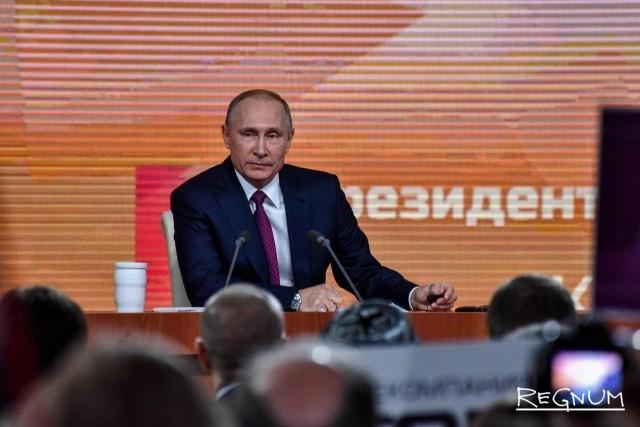 Путин начал сразу с вопросов