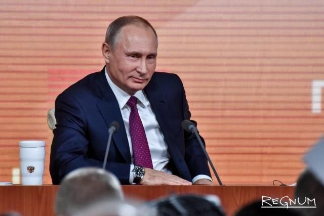 Путин о роли США в Донбассе: По сути, США участники процесса урегулирования
