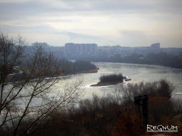 Река Уда. Улан-Удэ