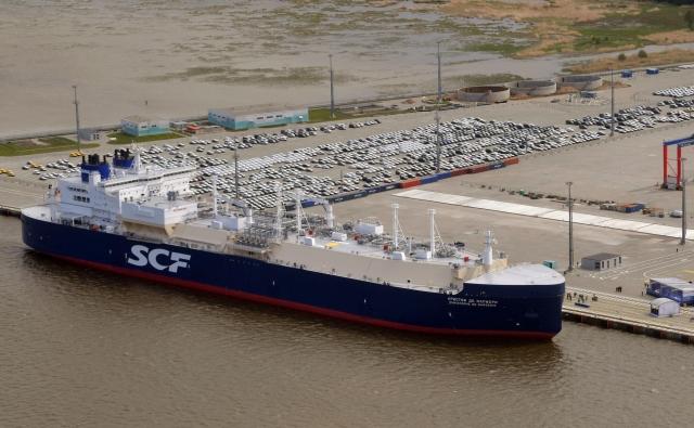 Арктический танкер-газовоз «Кристоф де Маржери», флагманский  корабль в рамках проекта «Ямал СПГ»