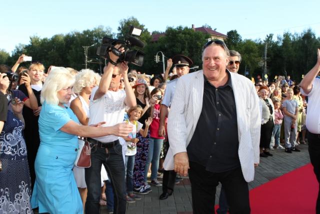 Открытие кинотеатра «Россия» – Культурный центр Жерара Депардье. 27 августа 2016 года