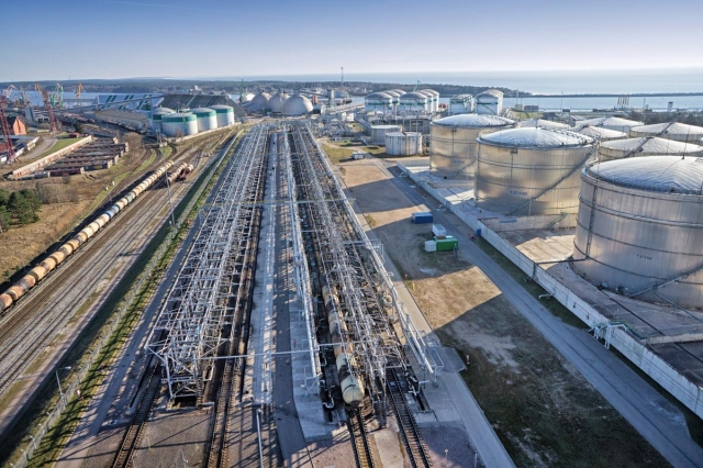 Нефтяной терминал Клайпедского порта