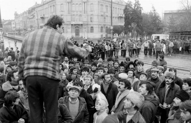 Демонстрация в Тимишоаре