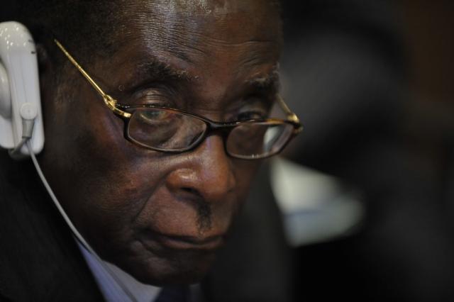 «Вперед с президентом Мугабе!»