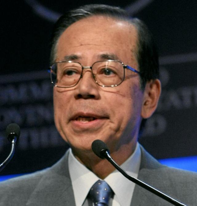 Глава отдела пропаганды КПК встретился бывшим премьер-министром Японии
