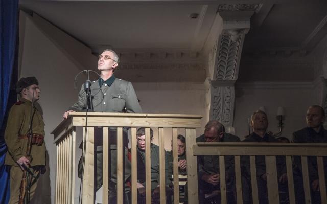 Журналист Валерий Рубцов в роли генерала артиллерии, бывшего командира 38 армейского корпуса Курта Герцога