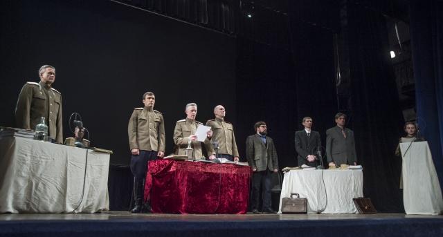 «Да судимы будете» — первая сценическая реконструкция в России открытого процесса над нацистскими преступниками