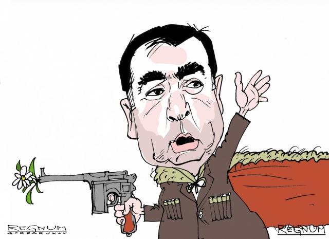 В Киеве произошли столкновения между полицией и сторонниками Саакашвили