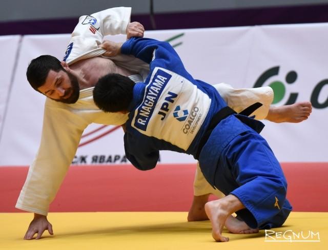 Турнир по дзюдо серии «Мастерс» проходит в Санкт-Петербурге