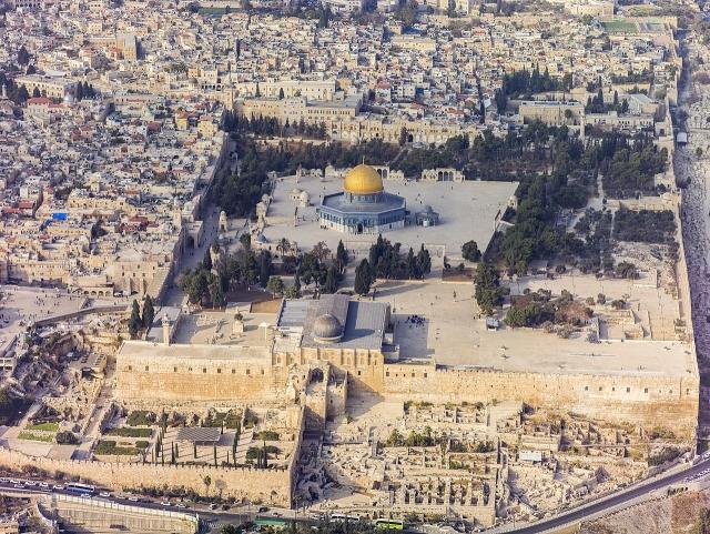 Храмовая гора. Иерусалим