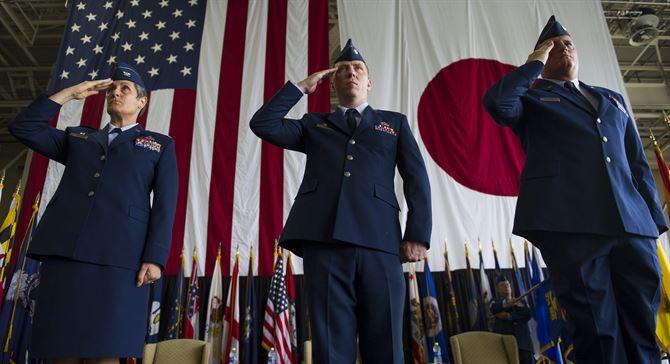 Американская военная база в Японии