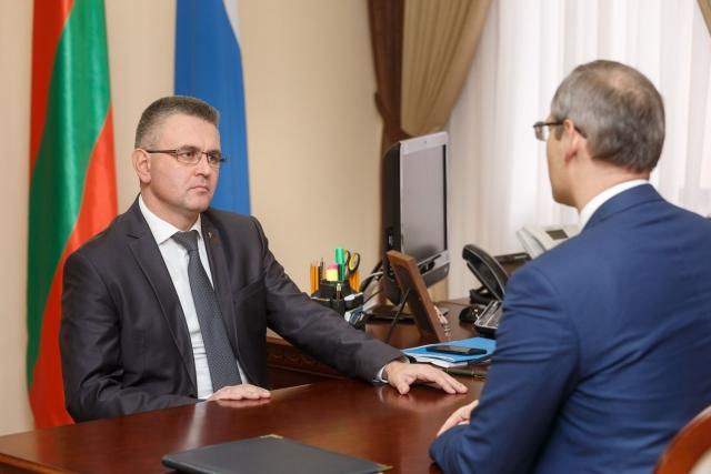 Рабочая встреча Вадима Красносельского и Виталия Игнатьева